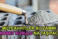 İnşaat sektöründe çimento zammı krizi yaşanıyor