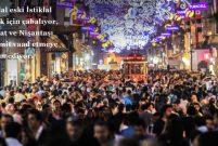 İstiklal Caddesi eskiye dönüşte umut vadediyor