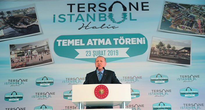 Tersane İstanbul'un temeli törenle atıldı