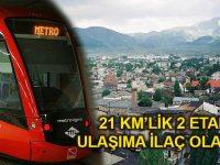 Erzurum'a 890 milyon TL'lik tramvay hattı yapılıyor