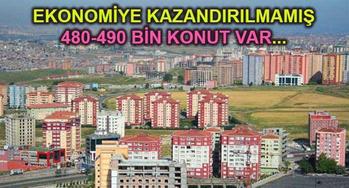 İstanbul'un ilçelerinde konut stoku ne kadar?