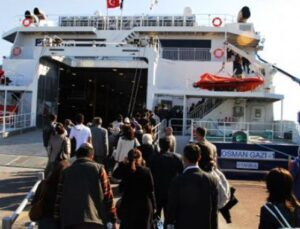 Büyük İstanbul Mitingi için İDO hatlarında değişiklik var