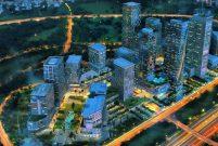 The İstanbul Finans Merkezi'nde inşaat sürüyor
