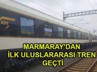 Asya Avrupa arasında kesintisiz demiryolu bağlantısı tamam!