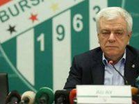 Bursaspor'un satılmayan taşınmazları Başkan Ay'a devredildi