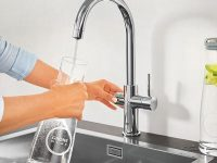 Ofis mutfaklarına Grohe'den profesyonel su filtresi