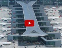 İstanbul Havalimanı'nın havadan çekimleri engin denizler gibi
