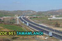 İstanbul-İzmir Otoyolu geçtiği bölgeleri ihya ediyor
