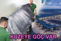 Yeni havalimanıyla birlikte İstanbullular da taşındı!