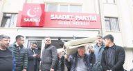 Saadet Partisi Genel Merkezi icrayla boşaltıldı