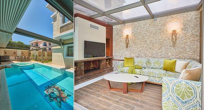 Yazlık evler için farklı dekorasyon önerileri…