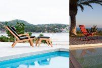 Havuzun ve güneşin keyfi bu sandalyelerle çıkıyor