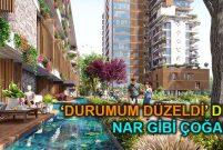 Narlı Bahçe'de 151 olan konut sayısı 342'ye çıktı