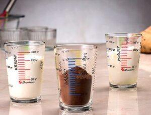 Paşabahçe'nin 3'lü ölçü bardağı set haline geldi