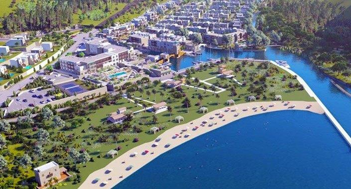 Anthaven projesinin su kanalı inşaatı da mühürlendi!