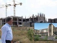 Bursa'da AOS Hastanesi'nin inşaatı yarım kaldı