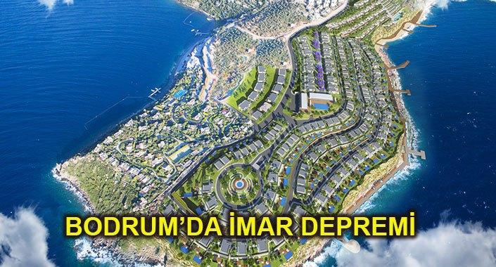 Bodrum'da inşaatı süren 8 proje mühürlendi