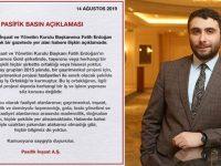 Fatih Erdoğan'dan Alamos Gold ve Çiftay açıklaması