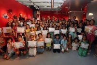 Folkart'ın minik sanatçıları sertifika aldı