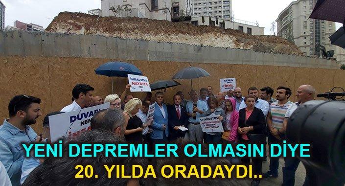 Özgür Karabat Bulvar İstanbul'un istinad duvarını unutmuyor