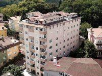 Sarıyer'de kolonları patlayan 39 daireli bina tahliye edildi