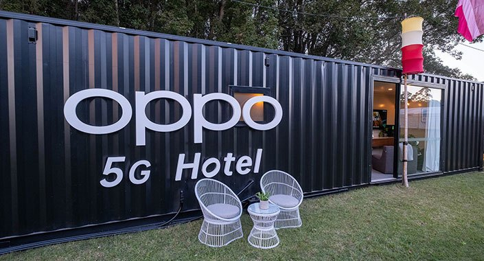 OPPO dünyanın ilk 5G otelini açtı!