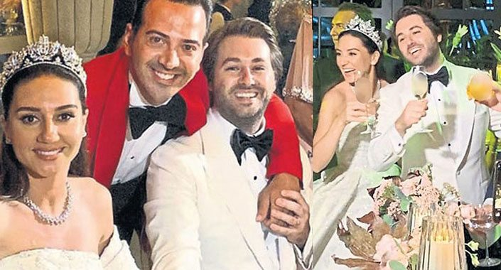 Sercan Gençoğlu Mina Ekici ile evlendi