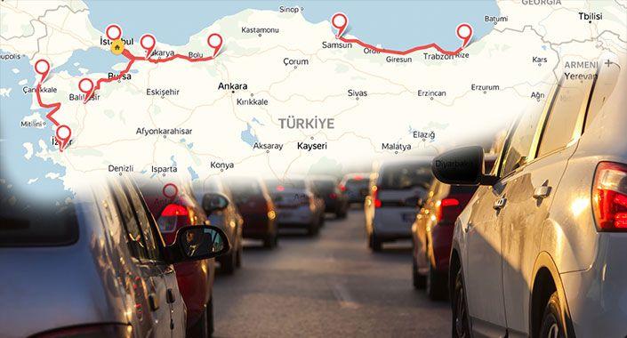 Yandex, bayram trafiğinden kurtulmanın yollarını açıkladı