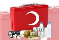 Deprem çantası her daim hazır olsun