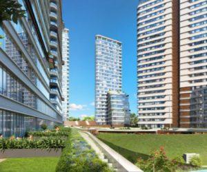Evora İzmir 7 blokta yükselecek