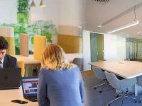 Regus'un yeni çalışma alanı Zincirlikuyu'da açıldı