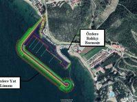 İzmir Menderes'e Özdere Yat Limanı yapılıyor