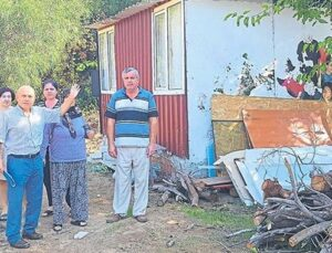 Antalya'da barakalara yapı kayıt belgesi verilmiş