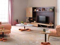 Yaşam alanlarının yeni fonksiyonel alanı; Antares TV Ünitesi