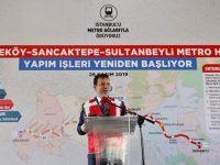 Çekmeköy-Sancaktepe-Sultanbeyli Metro Hattı yeniden başladı
