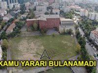 Etiler Polis Okulu'nda AVM ve rezidans planı iptal!