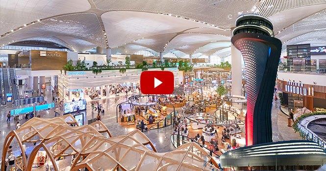 İstanbul Havalimanı'nın güncel video filmi