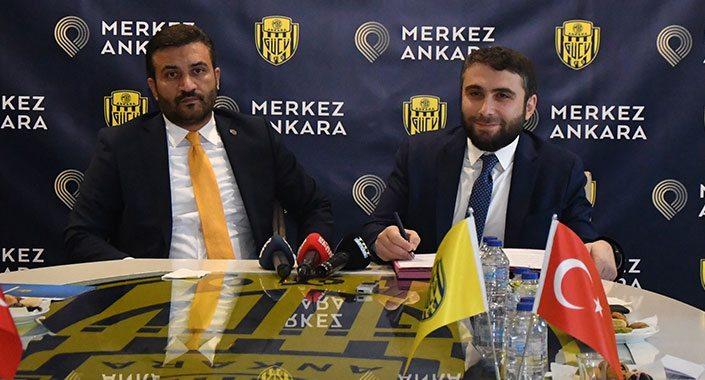 Merkez Ankara Ankaragücü'ne sponsor oldu