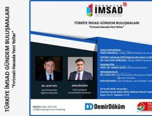 Türkiye İMSAD'dan yılın 4. Gündem Buluşması