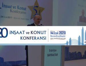 8. İnşaat ve Konut Konferansı 14 Ocak'ta yapılacak