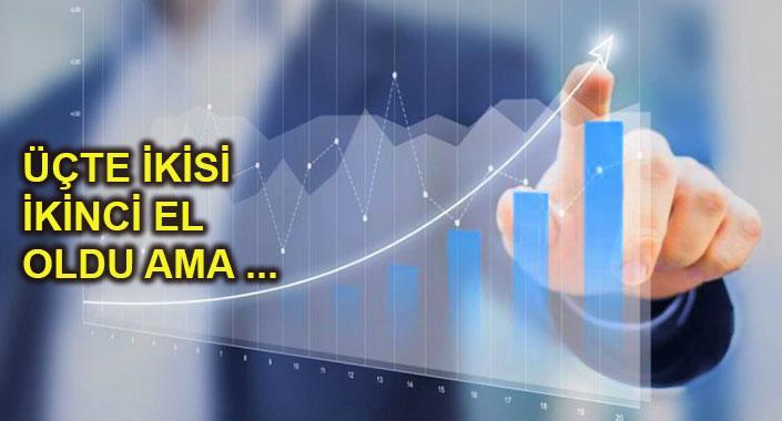 Geçen yıl her şeye rağmen 1 milyon 348 bin 729 konut satıldı