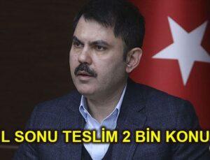 Devlet Elazığ'a acilen 2 bin konut yapacak