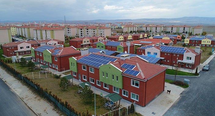 Tepebaşı Belediyesi 57 villayla akıllı yaşam köyüne geçti