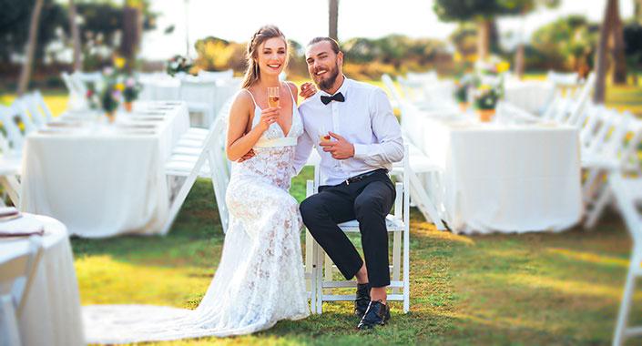 Çiftler en çok Temmuz, Ağustos ve Eylül aylarında evlendi