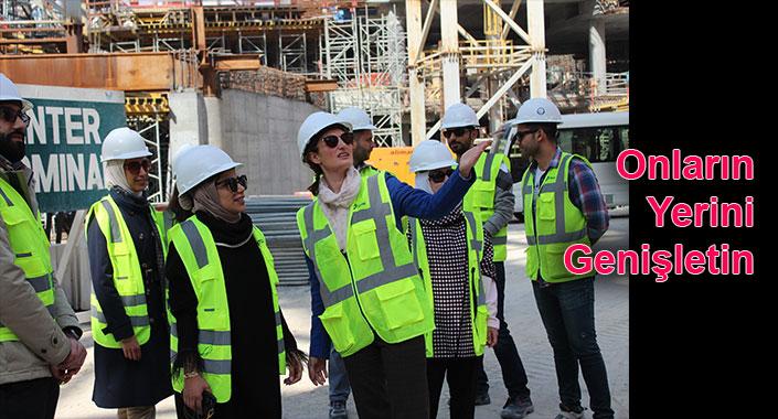 Kuveytli kadın mühendisler Türkiye'de eğitiliyor