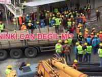 Ankara'da 300 inşaat işçisi karantinada