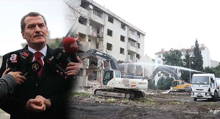 Zeytinburnu Millet Bahçesi için yıkıma başlandı