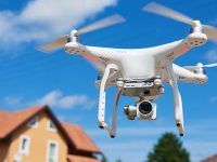 Drone'lar temassız gayrimenkul çekimi yapıyor