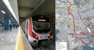 Ataköy İkitelli Metro Haritası, istasyonları ve güzergahı