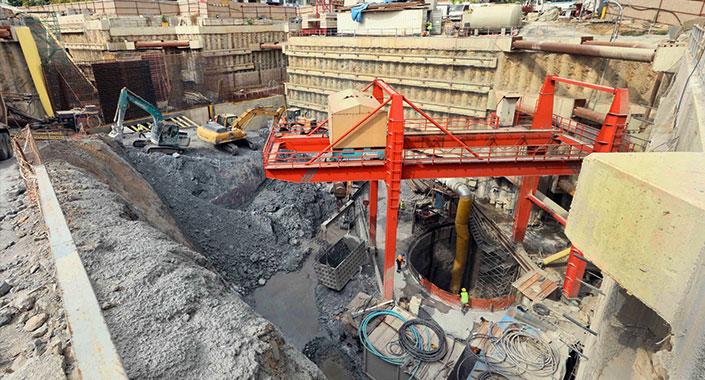 Gebze-Darıca Metro Hattı inşaatı hızlı ilerliyor